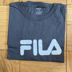 Fila Grey cotton t-shirt